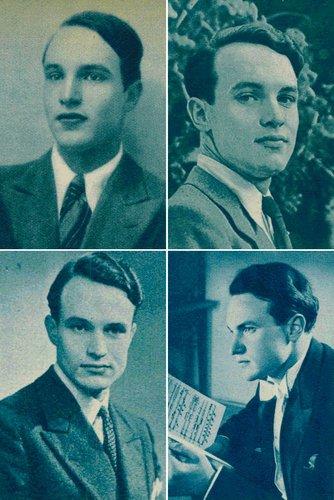 André PERRET, courte biographie, portraits 1937-1951