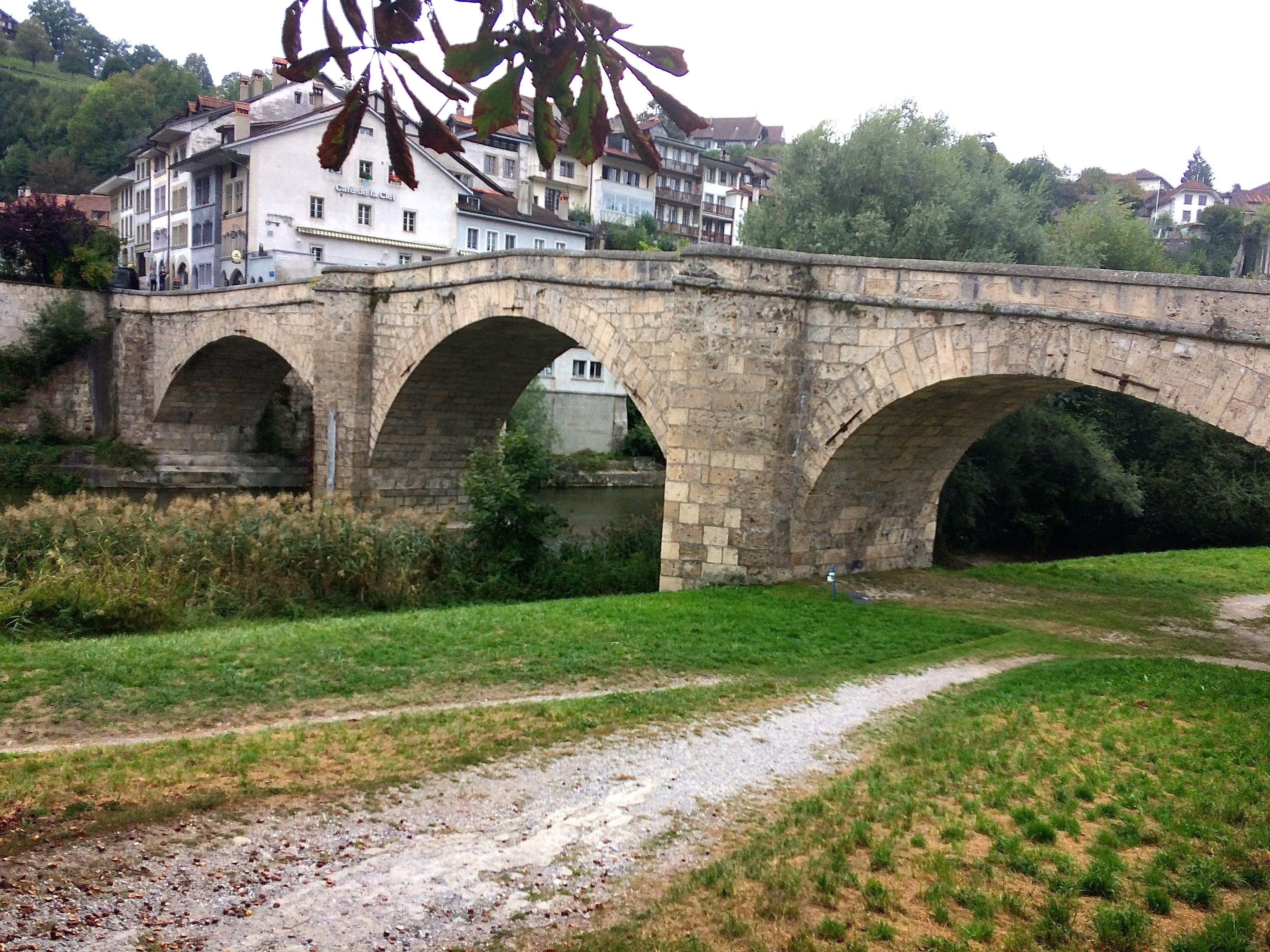 Fribourg, le pont St-Jean