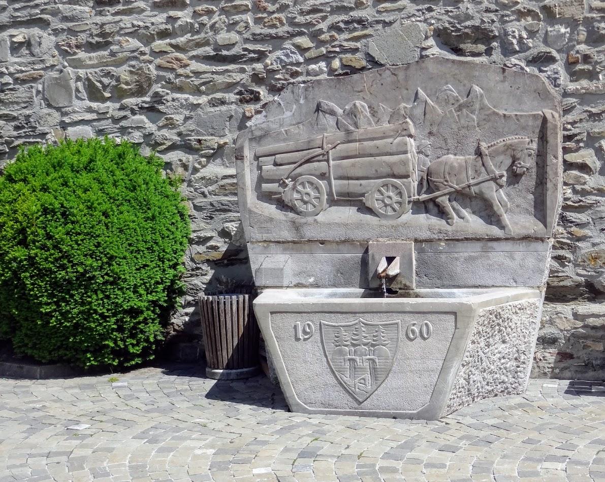 Fontaine à Troistorrents