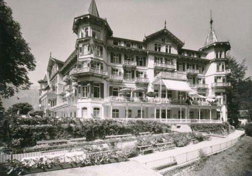 Un grandhôtel Giessbach comme un Château des rêves