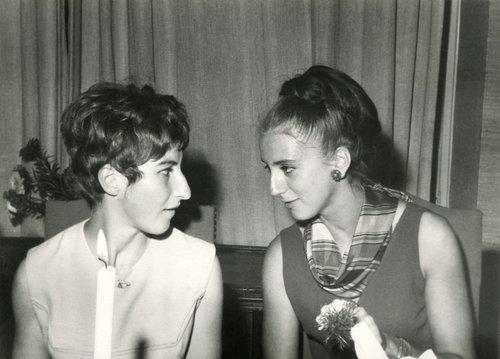 Marie-France Favarger et Christine Estreicher