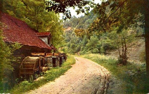 Fribourg, vieux moulins