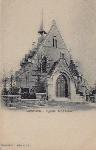 Lausanne église Ecossaise