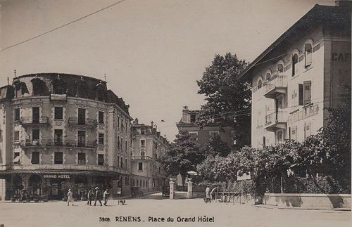 Renens place du Grand Hôtel