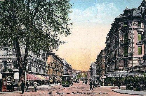 Genève Boulevard Georges Favon