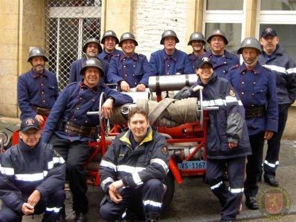 100 ème des Sapeurs-Pompiers Vaudois