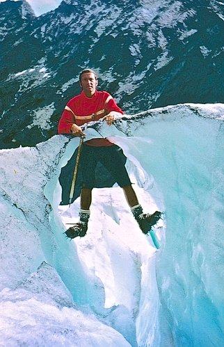 Ecole de glace sur le glacier de Moiry