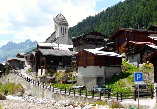 Le village de Blatten