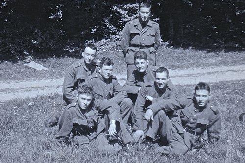Ecole de recrues d'infanterie de montagne,  Lausanne, 1962