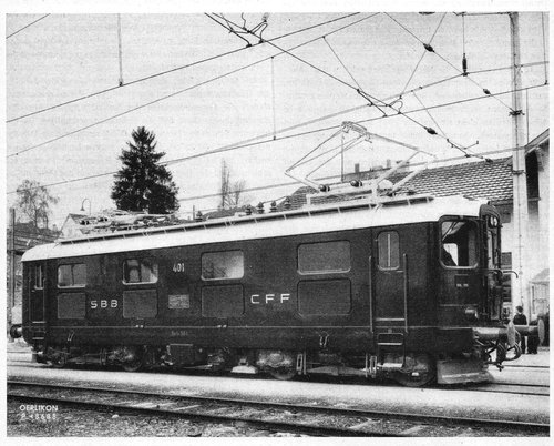 Les locomotives CFF Re 4/4