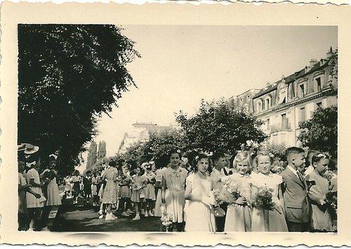 Fête de la jeunesse, Neuchâtel, 1951
