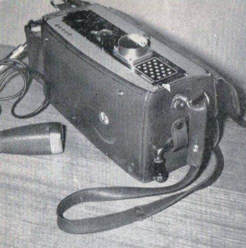 Nagra II en 1955