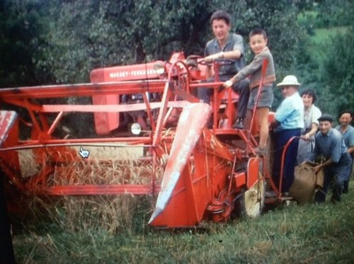 Machines agricoles en 1950