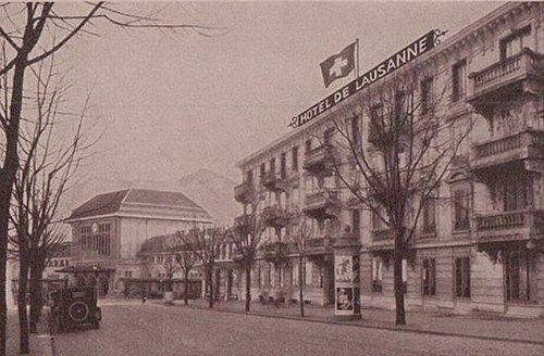 Lausanne hôtel de Lausanne