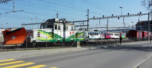 Ligne Yverdon-Sainte Croix
