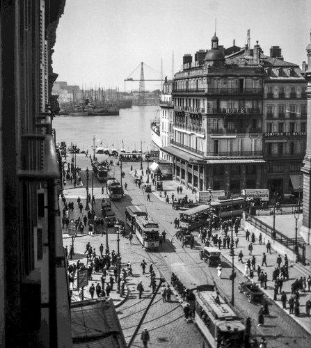 Marseille et la Rue de la Canebière