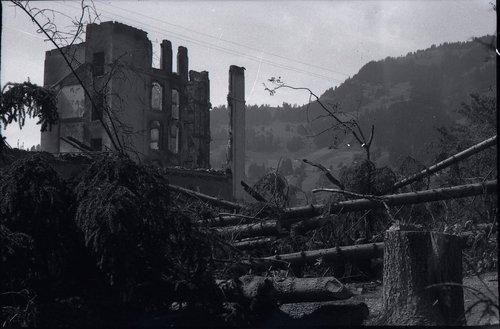 Incendie du Grand Hôtel de Villars, 31.07 au 01.08. 1921