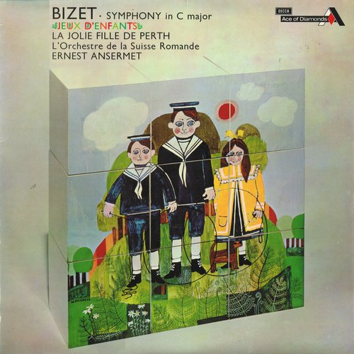 Georges BIZET, Suite de la Jolie Fille de Perth, OSR, Ernest ANSERMET, 1960, STÉRÉO