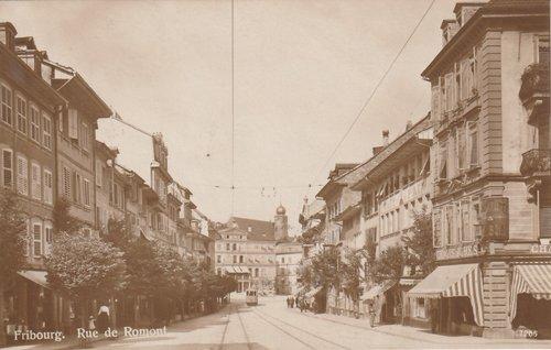 Fribourg - Rue de Romont