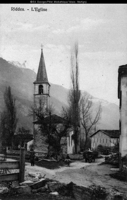 L'ancienne église de Riddes