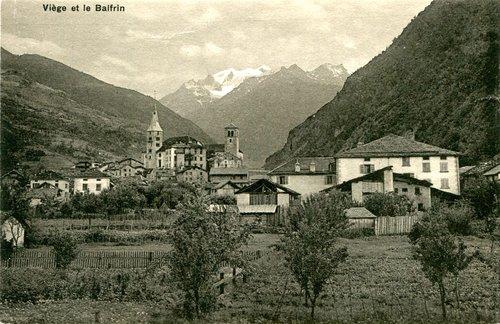 Viège et ses deux églises