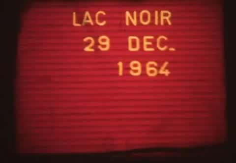 Lac noir en 1964