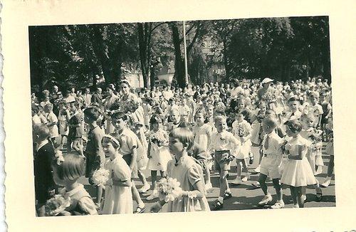 Fête de l'été, Neuchâtel, 1954
