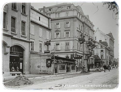Fribourg - Avenue de la Gare