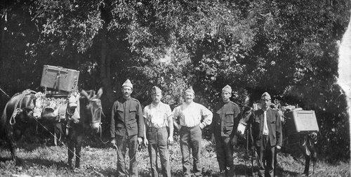 Soldats du train