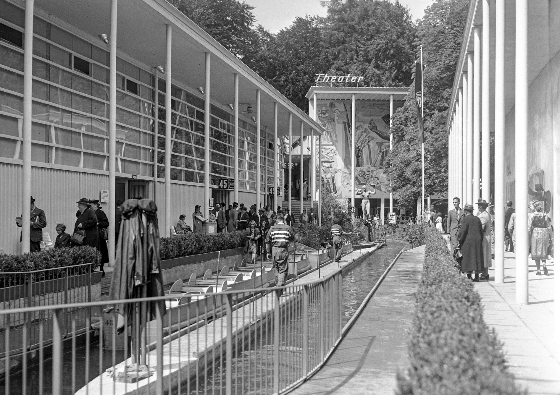 Exposition Nationale Suisse de 1939, le Schifflibach