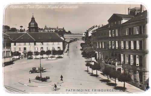 Place Python - Hôpital et Université