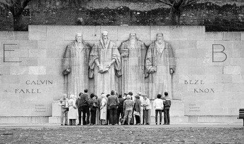 Genève, le Mur des Réformateurs