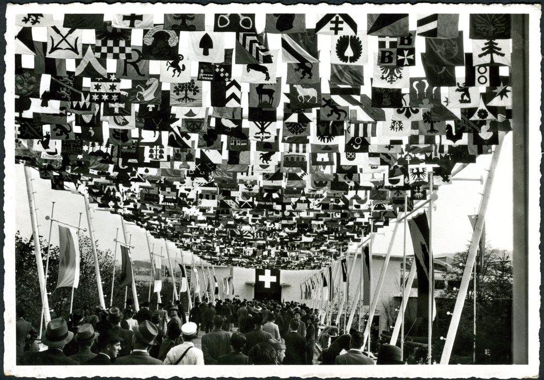 Exposition nationale Suisse 1939, Höhenstrasse