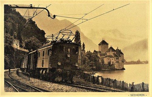 Inauguration traction électrique Lausanne Saint-Maurice