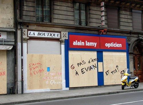 Genève, G pas d'ami à Evian
