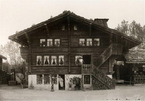 Village suisse, chalet