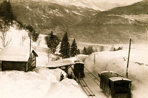 Funiculaire Sierre-Montana
