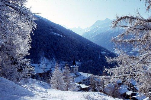 St-Luc, paysage d'hiver