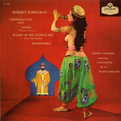 Rimski-Korsakow, Ernest ANSERMET, Decca LONDON LL 1733, pochette 1ère édition