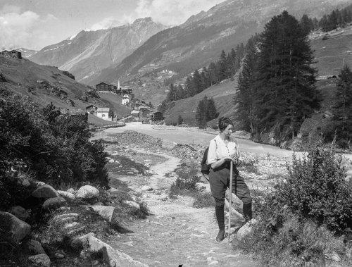 Suzanne à Zermatt