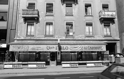 Genève, le Café de la Poste, chez Italo