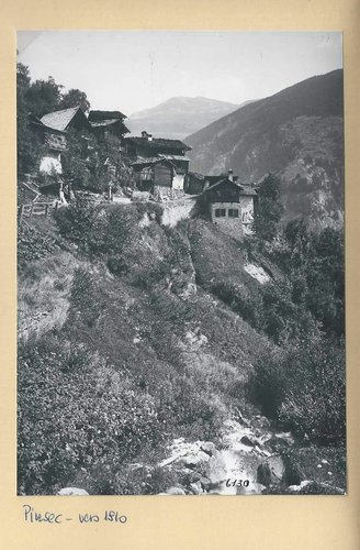 Pinsec, vers 1910