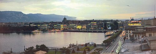 Genève, la rade