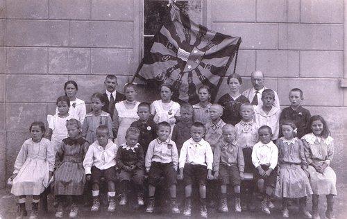Une classe primaire en Argovie