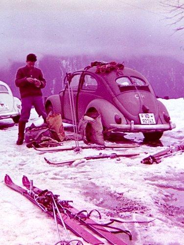 Ski alpinisme 1950 - 1960