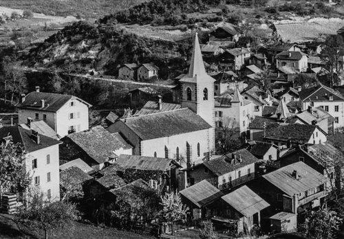 L'église de Miège