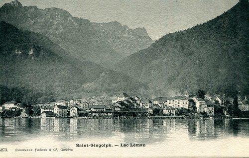 Le village de Saint-Gingolph