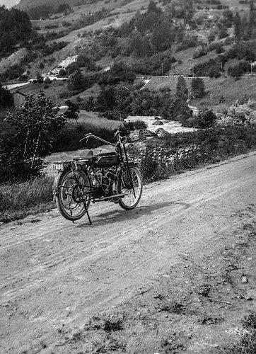 La première moto