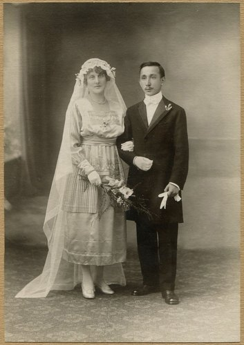 Mariage Raymond Wagen et Céline Sudan