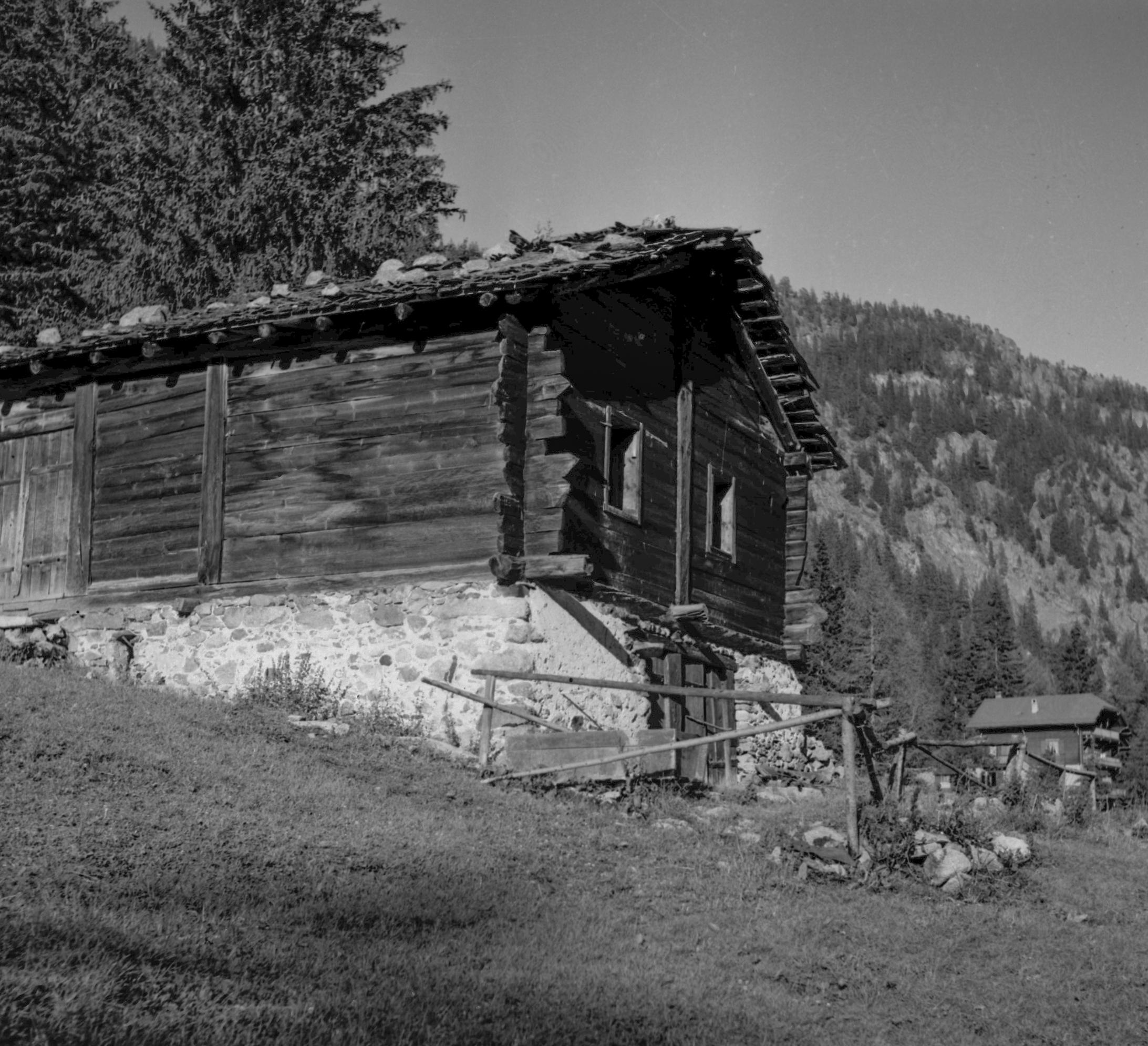 Mayen survivant de l'époque pré-hôtelière dans les hauts de Champex